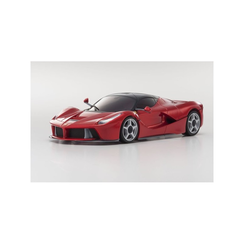 kyosho mini z mr 03 sports 2 ferrari la ferrari rouge metal 24ghz rtr 32212gmr