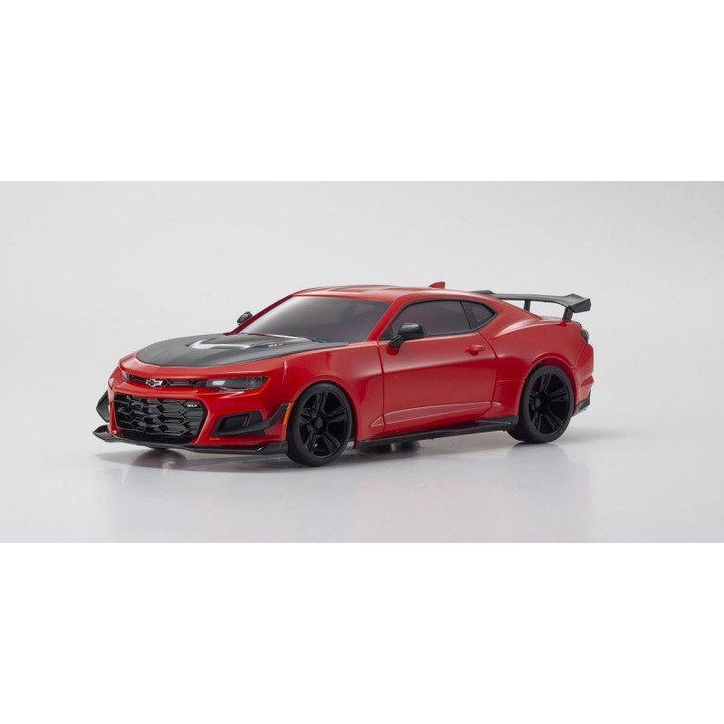 kyosho mini z rwd chevrolet camaro zl1 shadow red hot kt531p led rtr 32339r