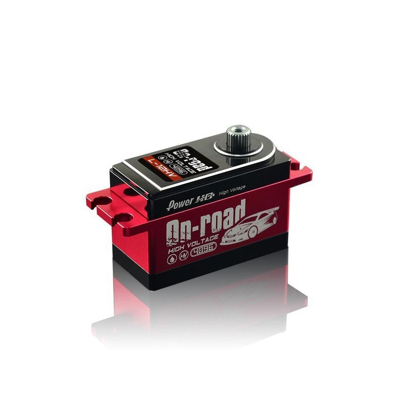 power hd servo low profil 120 kg 006s metal hd l12hv