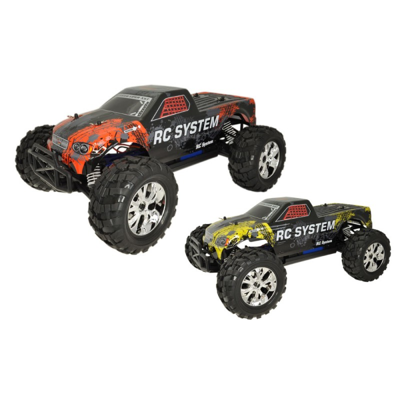 rc system monster truck jumper 4x4 brushed rtr rc708t