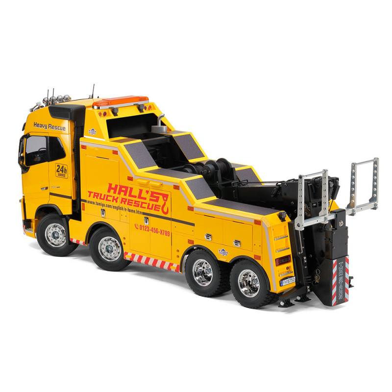 tamiya camion volvo fh16 globetrotter 750 8x4 tow truck kit 56362 1