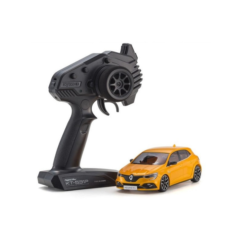 kyosho mini z serie fwd renault megane orange tonic 32421or 1